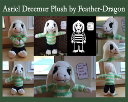 Asriel Dreemur Plush by Feather-Dragon