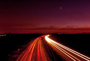 Evening A1 South by davepphotographer