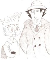 Johnny Test  Inspector Gadget by 1niteknightgoes
