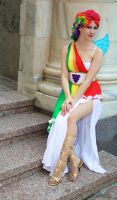 DragonCon: Rainbow Gala Girl by burloire