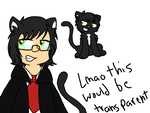 i only draw cats now by 3moNinja