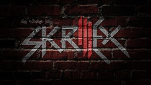 Skrillex Logo Wallpaper by ToHeavenOrHell
