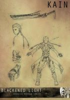 Kain redesign concept by sarrus