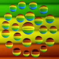 Colorful Drops 14 by flowerhippie22