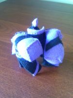 Plushies in Disguise: Skywarp by mutePenguin