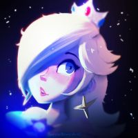 Rosalina Quick Painting by Spencer-Bowen