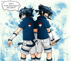Sasuke : Back to Back by xPrincessSakurax