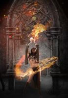 fire sorceress by icehabe