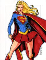 Supergirl 2009 by ericborc