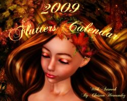 2009 Flutters Calendar by Chris10