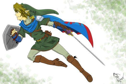 Link Warrior by AmostheArtman