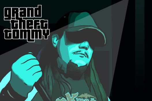 Grand Theft Tommy by kenkai