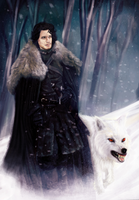 Jon Snow by miriamuk21