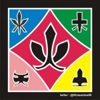 SHINKENGER ALL SYMBOL by FitraSantos
