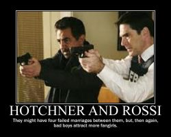Hotchner and Rossi by KitsuneKihoshi