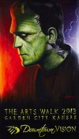 Frankenstein's Monster Banner by RodgerPister