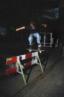 Wouter G. - Heelflip barrier by Obscurity-Doll