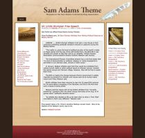 Sam Adam's WP Theme by BlakeH