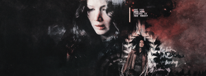 'Katniss', Facebook Cover | Winterowl by taxitoheaven