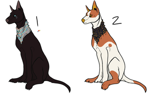 Sighthound adoptables-points/cash OPEN by Pekan-Pie