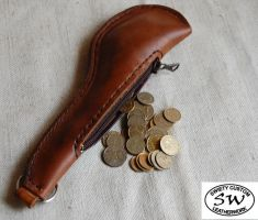 Coin Slapper by swietyleather