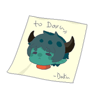 postit to daru by Dakuburu