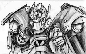 Ironhide the guardian by Fire-Redhead