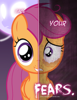 MLP - Two Sides of Scootaloo by TehJadeh