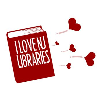 I Love NJ Libraries Logo 3 by Mazzy12345