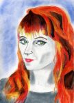 Ruth Connell - Rowena - Contest by TrixiBebe