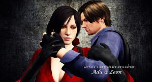 Ada and Leon by Captain-AlbertWesker