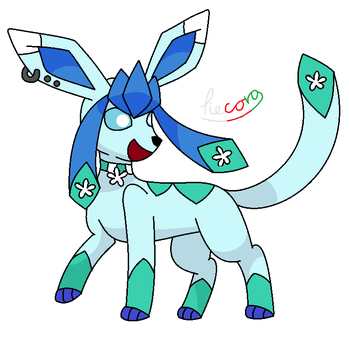 for crystaltheglaceon2 by tiecora