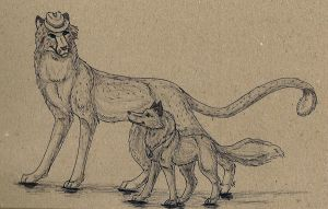 Kit and James by Blue-Storm-Spirit