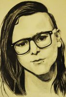 Skrillex by Amaliana