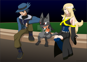 Kingdom Hearts X Pokemon - How things were before by LucarioShirona