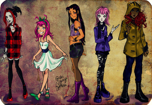 Titans fashion II by Gretlusky