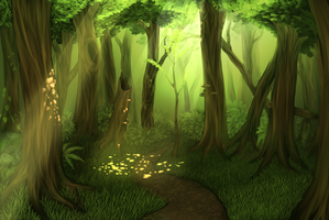 Forest by Castel-Eown