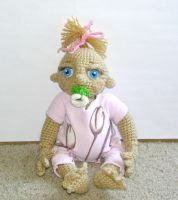 Crochet Baby Doll by Windowsillcharms