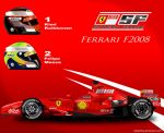 Ferrari F2008 by ShinjiRHCP