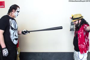 Anime Boston 2015 - Wrestlemania 32 Prediction by VideoGameStupid