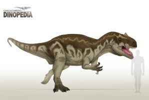 Allosaurus fragilis by CamusAltamirano