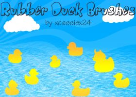 Rubber Duck Brushes by xCassiex24