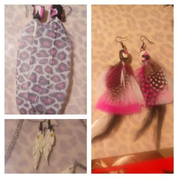 Polymer clay Earrings by Spencer0926