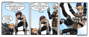 FFXIV Comic: A Hostile Atmasphere by bchart