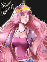 Princess Bubblegum - Adventure time by equillybrium