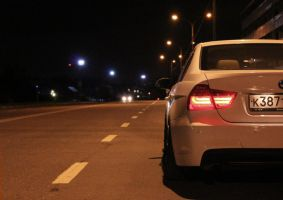 Autumn photoset of Slammed BMW E90 13 by BlackSelf91
