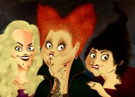 The Sanderson Sisters by victor7234