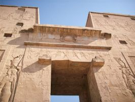 Temple of Horus I by SirLordAshram