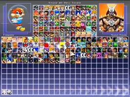My MUGEN Roster as of 26/10/2013 by WaluigiTails3801