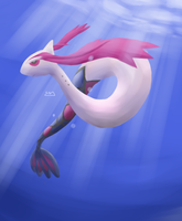 Milotic by Zaemii